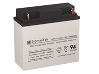 Lightalarms 860-0016 Replacement Emergency Light Battery | 12V/18AH | Sealed Lead Acid Battery | Pro Battery Specialists