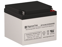 Data Shield TURBO XT350 Replacement UPS Backup Battery | 12V/26AH | Sealed Lead Acid Battery | Pro Battery Specialists