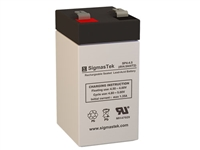 Siltron 1001163 Replacement Emergency Light Battery | 4V/4.5AH | Sealed Lead Acid Battery | Pro Battery Specialists