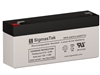 Dual-Lite 120922 Replacement Emergency Light Battery | 6V/3AH | Sealed Lead Acid Battery | Pro Battery Specialists