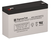 National Power GS013P2-NATIONALPOWER Replacement Emergency Light Battery | 6V/7AH |Sealed Lead Acid Battery | Pro Battery Specialists