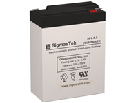 Lightalarms CE1-5AL Replacement Emergency Light Battery | 6V/8.5AH | Sealed Lead Acid Battery | Pro Battery Specialists