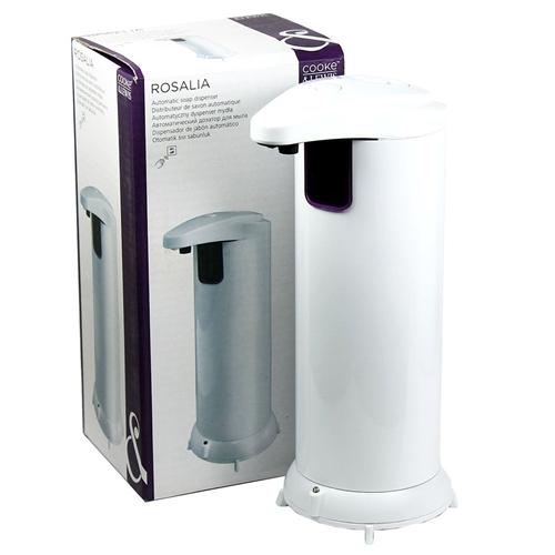 automatic hands free stainless steel ir sensor soap dispenser white or chrome - Hand Soap Dispenser