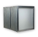 "Aluminum Screen 23"" x 31"" with 200 White Mesh (12 Bundle)"