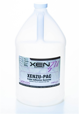 XENZU-PAC Biodegradable Adhesive and Ink Remover
