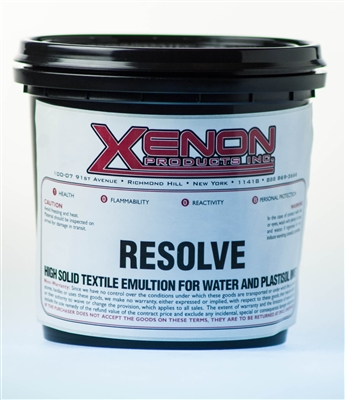 Resolve Photo Emulsion for Plastisol & Water base Ink