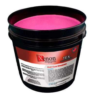 TEX Dual Cure Diazo Textile photo emulsion