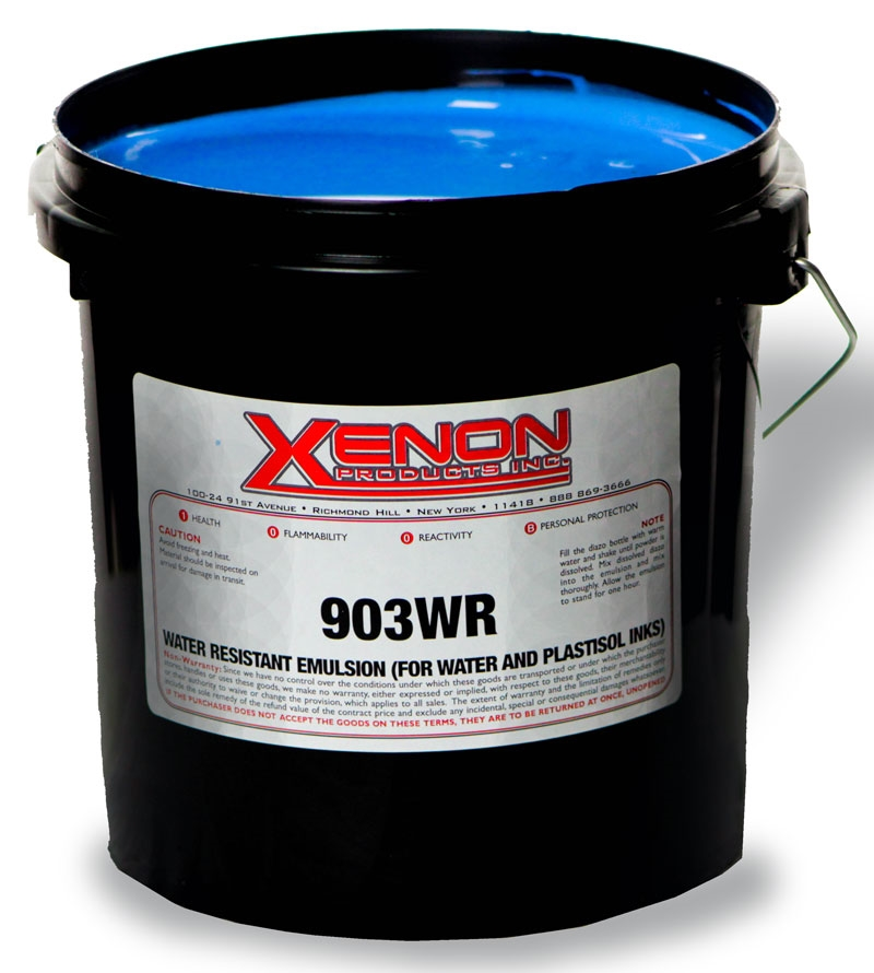 903WR Photo Emulsion (for water based and Plastisol Inks