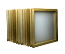 "Wood Screen 23"" x 31""  With 200 White Mesh 12 Bundle"
