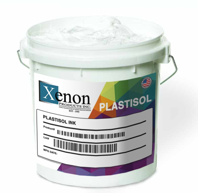 Poly-White Low Cure Poly Plastisol Ink