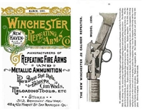 Winchester Repeating Arms Catalogue 1891. Reprint