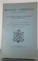 Metallic Cartridges (Regulation and Experimental) Treadwell. Reprint