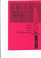 I XL Means I EXCEL - A Short History of the Bowie Knife. Cherry.