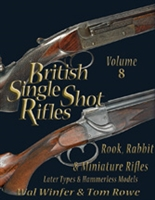 British Single Shot Rifle. Rook, Rabbit and Minature Rifles. Later types and  hammerless. Winfer, Rowe