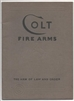 Colt Firearms. Sales Catalogue Jan 1935