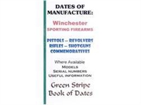 Dates of Manufacture. Winchester