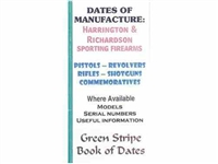 Dates of Manufacture. Harrington and Richardson