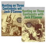 Hunting on Three Continents with Jack O'Connor Set of 2