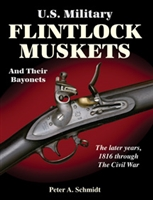 US Military Flintlock Muskets and their Bayonets.  Schmidt