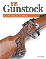 135 Gunstock Carving Patterns. Irish.