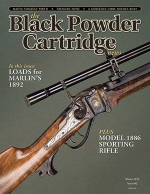 The Black Powder Cartridge News