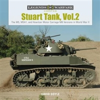 Stuart Tank : Volume 2 M5, M5A1, and Howitzer Motor Carriage M8 Versions in World War II. Doyle.