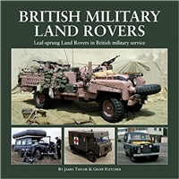 British Military Land Rovers. Taylor, Fletcher.