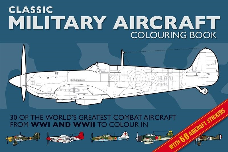 Classic Military Aircraft Colouring Book  Wilde