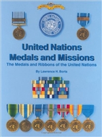 United Nations Medals and Missions. Borts.