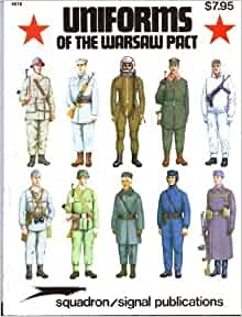 Uniforms of the Warsaw Pact. Wiener.