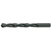 Alfa Tools TS50087A 1-15//16 Morse Taper 4 High-Speed Steel Taper Shank Drill with Black Oxide Finish