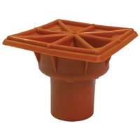 ERB 16910 Rebar Caps, Orange Osha Fits Rebar