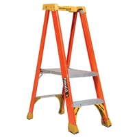 Louisville Ladder FXP1700XL Fiberglass Platform Step Ladder
