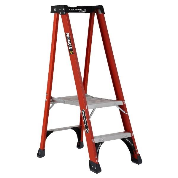 Outstanding Louisville Ladder Fxp1800Hd Fiberglass Platform Step Stool Industrial Pabps2019 Chair Design Images Pabps2019Com