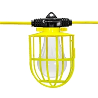 ProBuilt 111100 Hang-A-Light LED String Lights w/ Plastic Cage