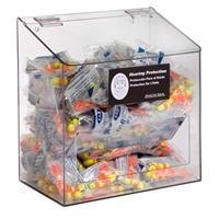 Rack'Em 5133 Foam Ear Plug Clear Acrylic Dispenser