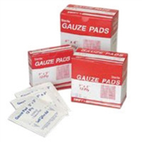 "Swift First Aid 4"" X 4"" Sterile Gauze Pad"