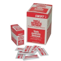 Swift First Aid Foil Pack Triple Biotic Ointment