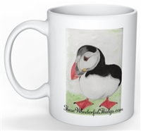 """Puffin"" Coffee Cup"