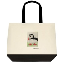"""Puffin"" Tote Bag"
