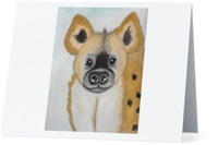 """Hyena"" Note Cards"