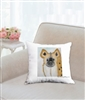 """Hyena"" Throw Pillow"