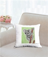 """Koala"" Throw Pillow"