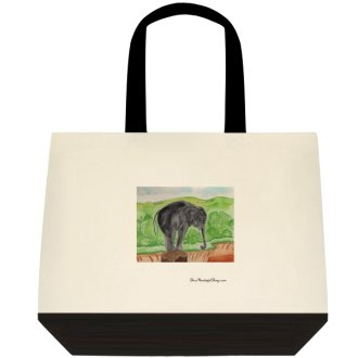 """Careful"" Tote Bag"