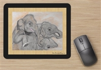 """Mud"" Mouse Pad"