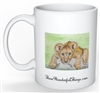 """Lion Cub"" Coffee Cup"