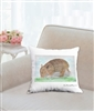 """Armadillo"" Throw Pillow"
