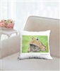 """Argentine Horned Frog"" Throw Pillow"