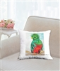 """Quetzal"" Throw Pillow"