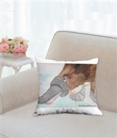"""Platypus"" Throw Pillow"